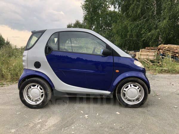 Smart Fortwo, 1999 год, 200 000 руб.