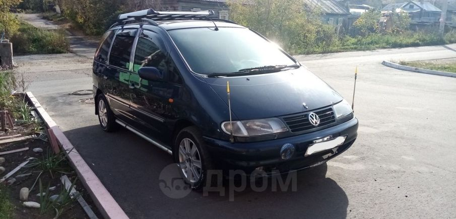 Volkswagen Sharan, 1997 год, 260 000 руб.