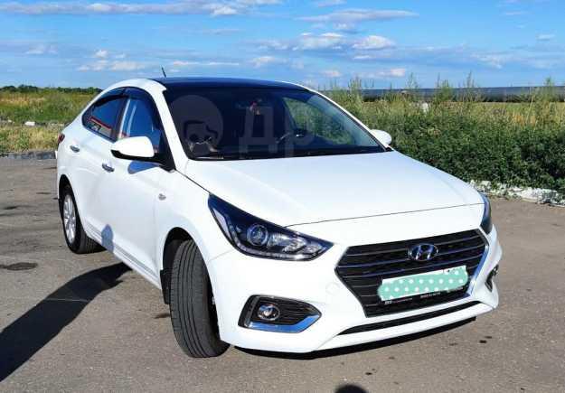 Hyundai Solaris, 2017 год, 825 000 руб.