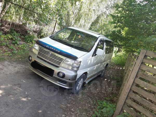 Nissan Elgrand, 1999 год, 335 000 руб.