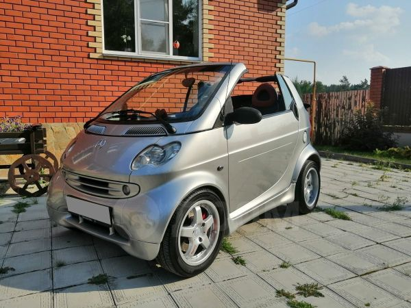Smart Fortwo, 2000 год, 320 000 руб.