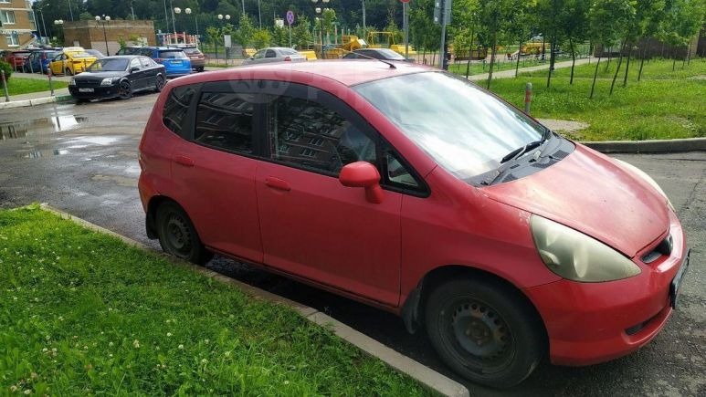 Honda Fit, 2001 год, 155 000 руб.