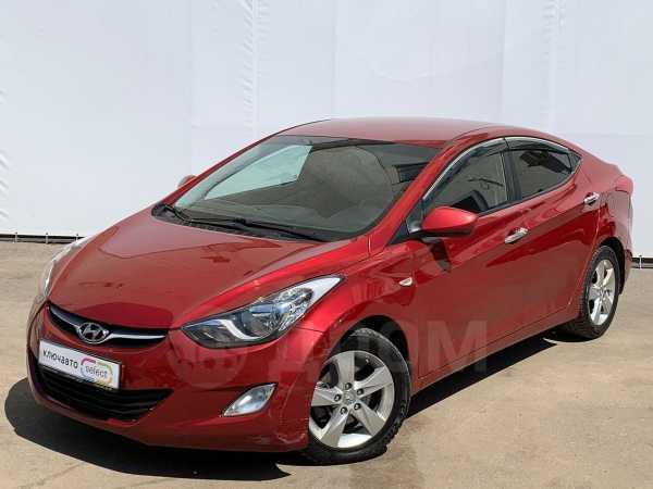 Hyundai Elantra, 2012 год, 489 900 руб.