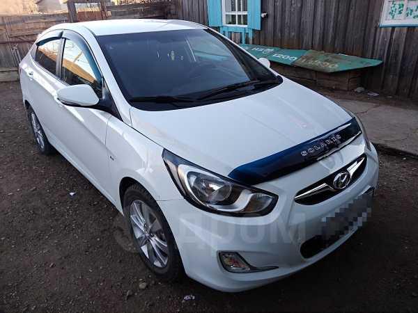 Hyundai Solaris, 2012 год, 505 000 руб.