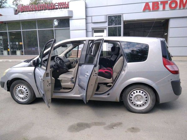 Renault Grand Scenic, 2004 год, 230 000 руб.
