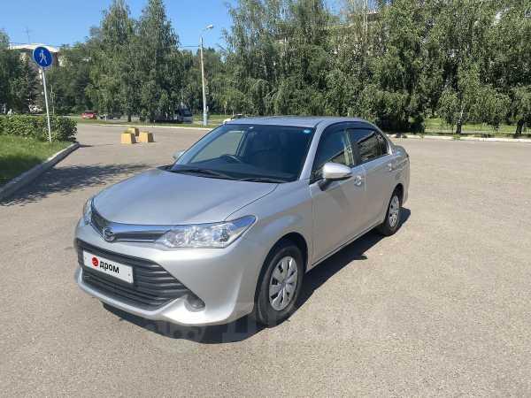 Toyota Corolla Axio, 2016 год, 670 000 руб.