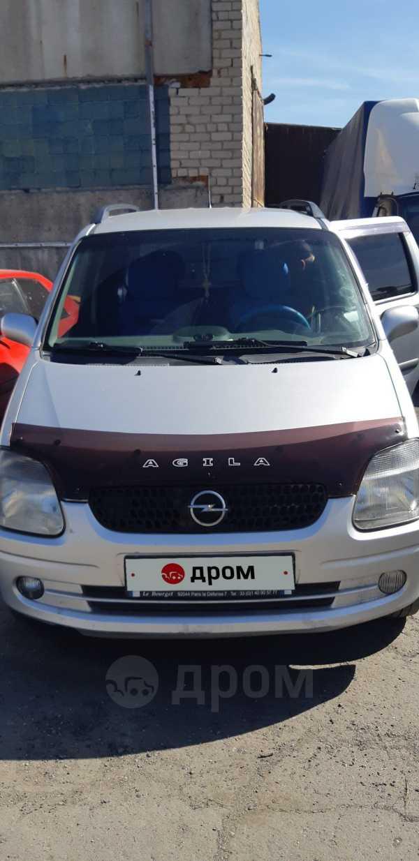 Opel Agila, 2001 год, 180 000 руб.