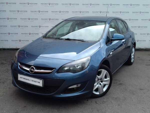 Opel Astra, 2014 год, 578 000 руб.