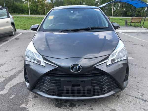 Toyota Vitz, 2017 год, 628 000 руб.