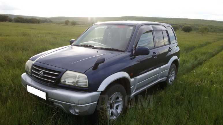 Suzuki Escudo, 2002 год, 470 000 руб.