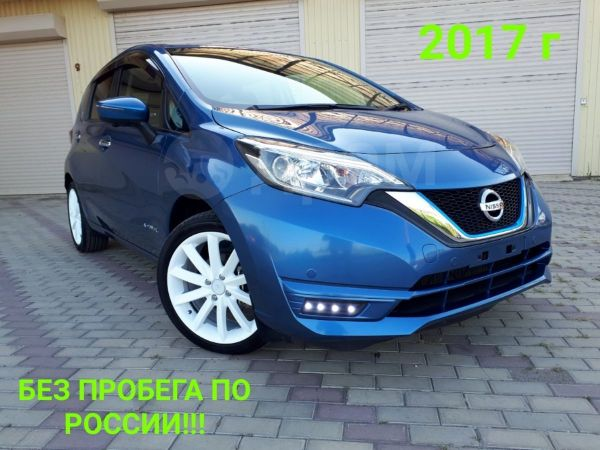 Nissan Note, 2017 год, 850 000 руб.