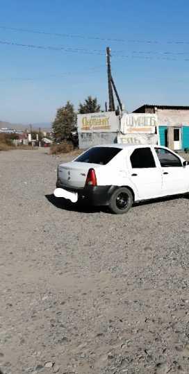 Кызыл Logan 2008