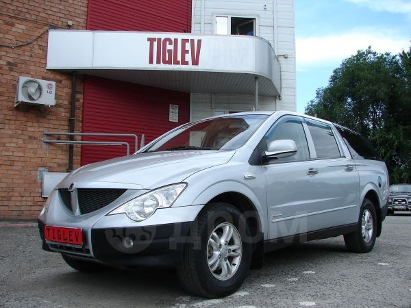 SsangYong Actyon Sports, 2011 год, 480 000 руб.