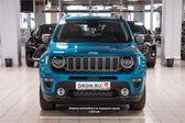 Jeep Renegade 2018 - Внешние размеры
