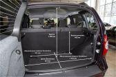 Лада Нива (2020-21 гг.) 2020 - Размеры багажника