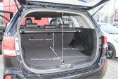 Kia Sorento 201207 - Размеры багажника