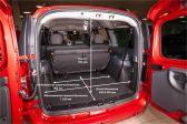 Лада Ларгус 201207 - Размеры багажника