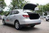 Nissan Almera 2012 - Внешние размеры