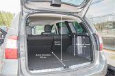 Nissan Terrano 201404 - Размеры багажника