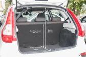 Лада Калина Спорт 2014 - Размеры багажника