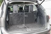 Nissan Pathfinder 2014 - Размеры багажника