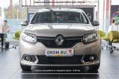 Renault Sandero 2012 - Внешние размеры