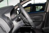 Renault Sandero 2012 - Внутренние размеры