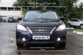 Nissan Sentra 2014 - Внешние размеры