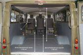 УАЗ Буханка 196503 - Размеры багажника