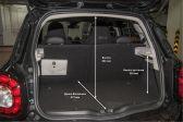 Smart Forfour 201407 - Размеры багажника