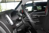 Jeep Renegade 201403 - Внутренние размеры