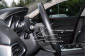 Jaguar XE 2015 - Внутренние размеры