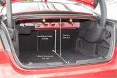 Jaguar XE 2015 - Размеры багажника