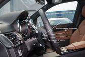 Mercedes-Benz GLE 2015 - Внутренние размеры