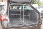 Skoda Superb 2016 - Размеры багажника
