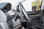 Volkswagen Caddy 2015 - Внутренние размеры