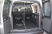 Volkswagen Caddy 2015 - Размеры багажника