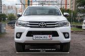 Toyota Hilux Pick Up 2015 - Внешние размеры