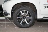 Mitsubishi Pajero Sport 201607 - Клиренс