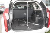 Mitsubishi Pajero Sport 201607 - Размеры багажника