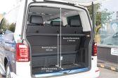 Volkswagen Multivan 2015 - Размеры багажника