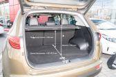 Kia Sportage 2016 - Размеры багажника