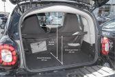 Smart Fortwo 201406 - Размеры багажника
