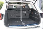 Volkswagen Touareg 2014 - Размеры багажника