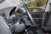 Volkswagen Polo 201505 - Внутренние размеры