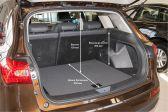 Zotye T600 201403 - Размеры багажника