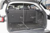 Land Rover Range Rover Evoque 2015 - Размеры багажника