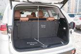 Toyota Highlander 201603 - Размеры багажника