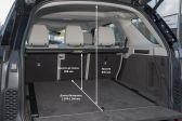 Land Rover Discovery 2016 - Размеры багажника