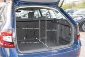 Skoda Octavia 2016 - Размеры багажника